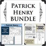 PATRICK HENRY BUNDLE Revolutionary War Research Project Biography Primary Source