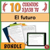 BUNDLE of 10 Spanish Future Tense Writing Activities   PRINT & DIGITAL