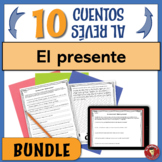 BUNDLE of 10 Spanish Present Tense Writing Activities | PR