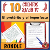 BUNDLE of 10 Spanish Preterite & Imperfect Writing Activities | PRINT & DIGITAL