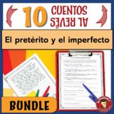 BUNDLE of 10 Spanish Preterite & Imperfect Writing Activit