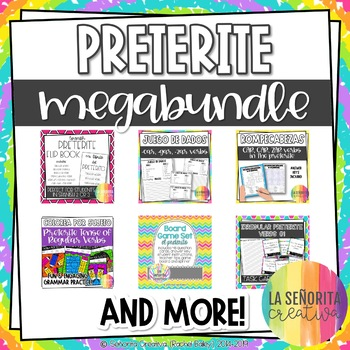 BUNDLE of 20 Games and Activities for the Preterite Tense