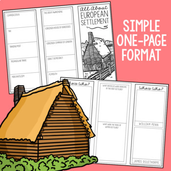 BUNDLE of 21 American History Mini Projects, Research Brochure Templates