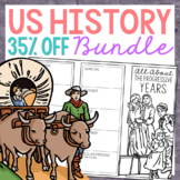 BUNDLE of 21 American History Mini Projects, Research Broc