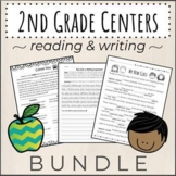BUNDLE of 2nd Grade Reading and Writing Literacy Centers