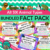 ANIMAL CHARACTERISTICS Fact Packs Mammals Birds Reptiles F