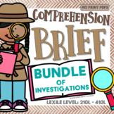 BUNDLE of Comprehension Briefs - Reading Comprehension for