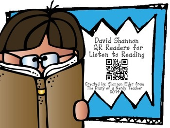 BUNDLE of David Shannon QR Readers for Listen to Reading