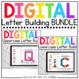 BUNDLE of Digital Alphabet Letter Building Activities | 3