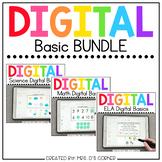BUNDLE of Digital Basics for ELA, Math and Science | Dista