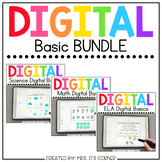 BUNDLE of Digital Basics for ELA, Math and Science | Dista