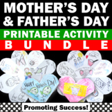 BUNDLE of Foldable Mother's Day Card & Father's Day Card Craft Project