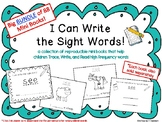 "BUNDLE of ""I Can Write the Sight Word"" Mini Books"