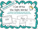 "FREEBIE! ""I Can Write the Sight Word SEE"" Mini Book"