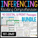 BUNDLE of Inferencing Reading Comprehension Passages & Que