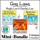 BUNDLE of LESSONS - The Gas Laws - Boyle's and Charles's Laws