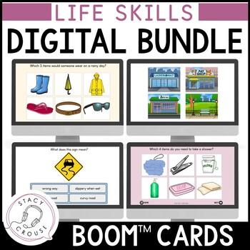 BUNDLE of Life Skills BOOM CARDS™
