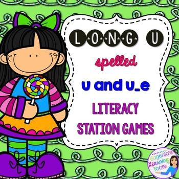 Vowel Long U spelled u and u_e