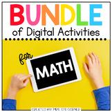 BUNDLE of Mathematics Digital Activities | Distance Learning