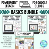 Library Skills BUNDLE of Powerpoint Lessons for the School Library Media Center