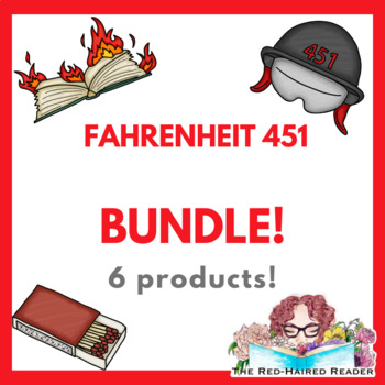 BUNDLE of Resources for Fahrenheit 451!