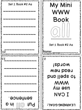 BUNDLE of Sight Word Interactive Mini Books