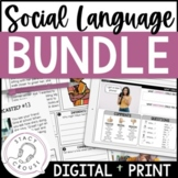 BUNDLE of Social Language Pragmatics Resources for Speech