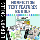 Text Feature Fun BUNDLE: Powerpoint, Dice Games and Cootie Catchers