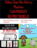 BUNDLE of Wilma Jean the Worry Machine by Julia book Cook Companion Activities