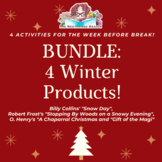 BUNDLE of Winter/ Holiday/ Christmas Resources for the Sec