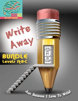 BUNDLE of all 3 levels! Enjoyable Writing Practice through WRITE AWAY!