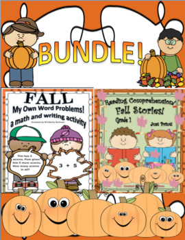 BUNDLE reading comprehension passages and questions word problems too!