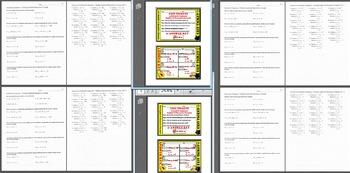 BUNDLE***Arithmetic & Geometric Seq - Explicit, Recursive Formula & Exit Ticket
