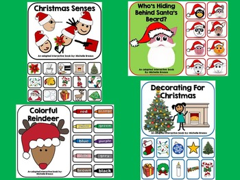 BUNDLED 13 Christmas Themed Adapted Books {Autism, Early Childhood, SPED}