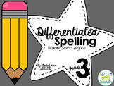BUNDLED 3rd Grade Differentiated Spelling Program - Readin