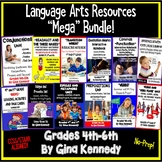 Language Arts Bundle, Activities and Lessons For the Entire Year!