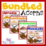 BUNDLED Acorns: Speech & Language Acorn Crafts