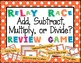 BUNDLED Add, Subtract, Multiply, or Divide Word Problem Re