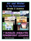 BUNDLED  - Air and Water in the Environment - Grade 2 Science