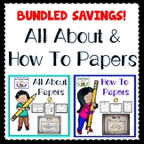 BUNDLED All About and How To Papers and Helpers