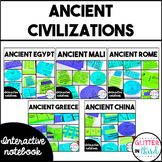 BUNDLED Ancient Civilizations Interactive Notebook