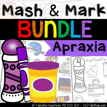 BUNDLED: Apraxia Mash & Mark