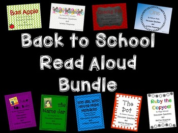 {BUNDLED} Back to School Read Alouds