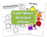BUNDLED Color Theory Worksheets