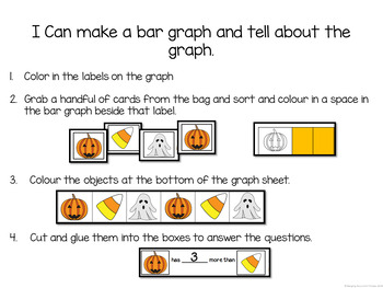 Fall Math Centers for Graphing (Data Management) BUNDLE