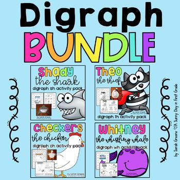 BUNDLED Digraph Pack! {sh, th, ch, wh}