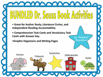 BUNDLED Dr. Seuss Book Activities