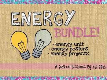 BUNDLED Energy Integrated Unit: Potential, Kinetic, Light, Heat and Motion