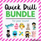 BUNDLED Generic/Everyday Use Quick Drills!