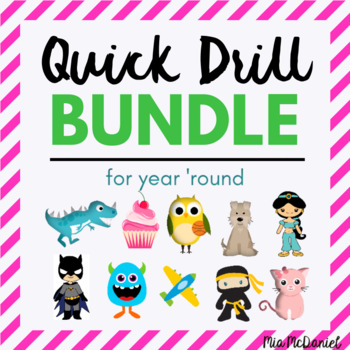 Quick Drill BUNDLE for Year 'Round
